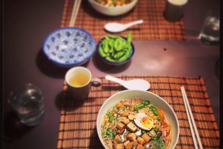 Bild Ramen Suppe