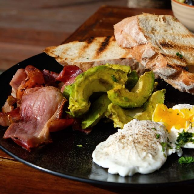 Last Breakfast  Bali  breakfastlover avocado poachedeggs sourdoughfocaccia baconlovehellip