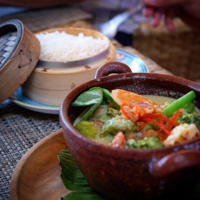 Green Veggie Thai Curry Gili Trawangan  soooo yummy!! thaicurryhellip