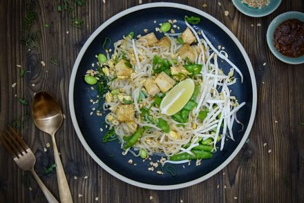 Bild Low Carb Pad Thai Shiritaki Konjak Konjac