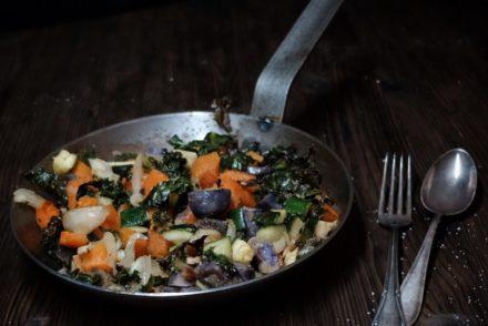Bild Winterliche Gemüsepfanne