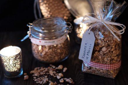Bild Geschenke aus der Küche Knusper Müsli