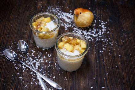 Bild Kokosmilchreis mit Mango
