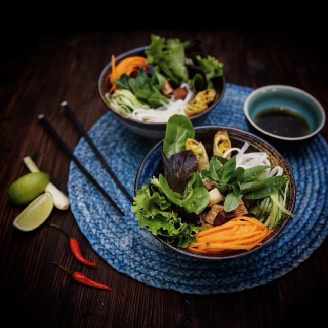 Kennt ihr das Vietnamesische Gericht Bo Bun? Zum ersten Malhellip