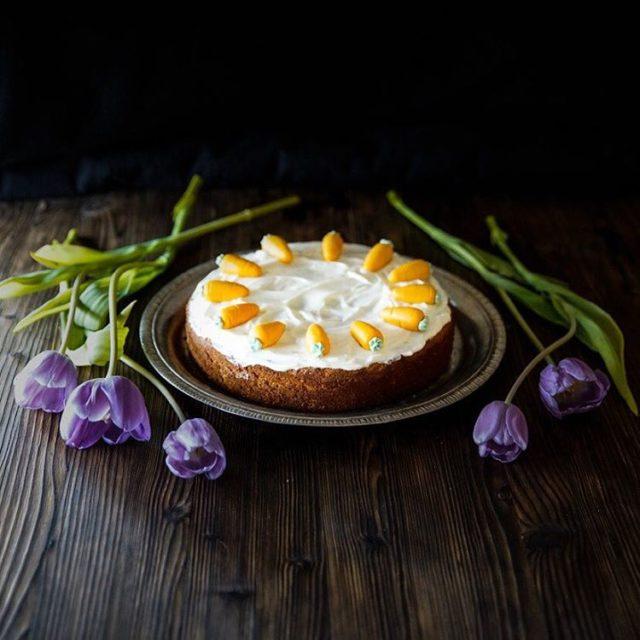 Rblikuchen mit Cream Cheese Frosting Mein Mitbringsel fr den OsterFamilyBrunchhellip