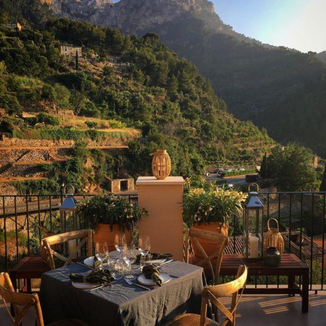 Another beautiful dinner ambience mallorca deia restaurantnama mallorcarestaurants dsentriebskitchen foodbloghellip