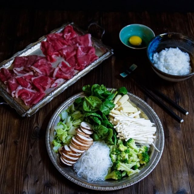 Sukiyaki und Shabushabu sind die japanischen Alternativen zum Fondue Chinoisehellip
