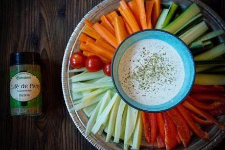 Bild Gemüse Dip Rezept
