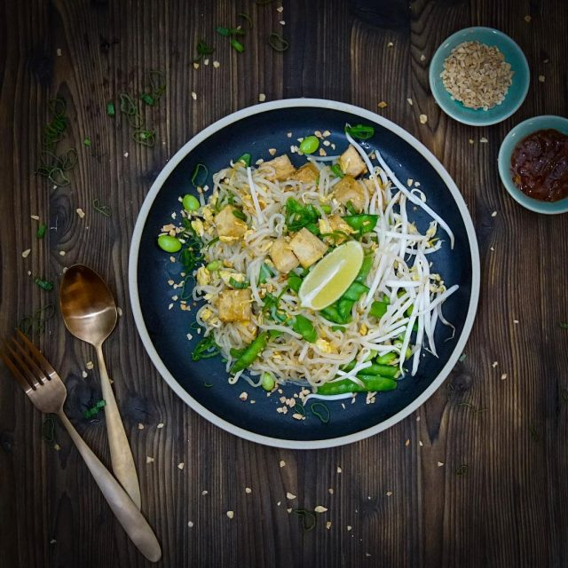 Low Carb Pad Thai  Dank Shiritaki Nudeln das idealehellip