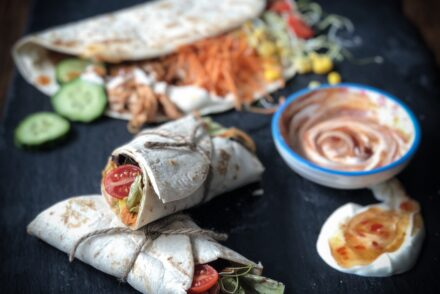 Reste Wrap Essenstreste verwerten no food waste Rezept
