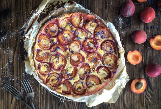 Aprikosenwähe mit Quark und Honig Aprikosen Rezept