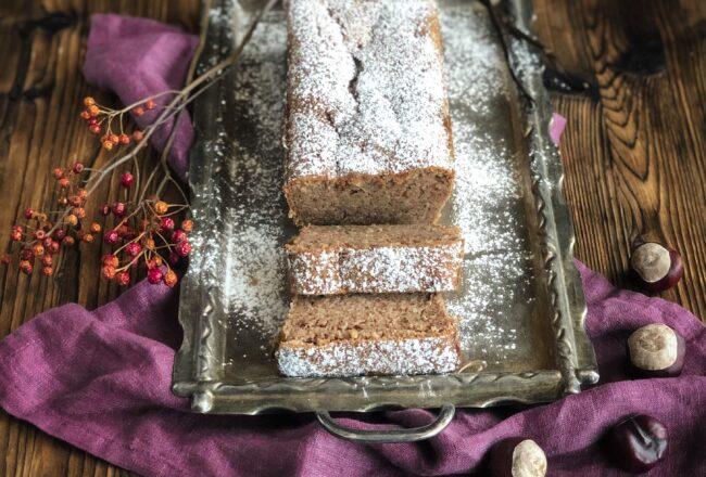 Marroni Cake Marronikuchen Rezept feucht fluffig einfach Herbstrezept