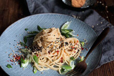Miso Spaghetti Rezept mit Miso